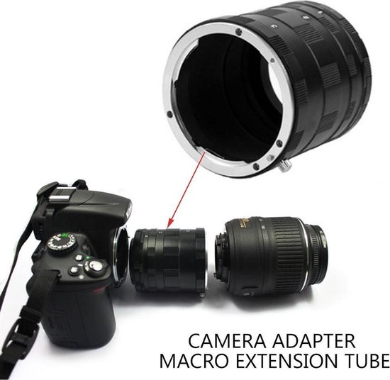 Macro extension tubes voor Canon EOS EF EF-S camera's