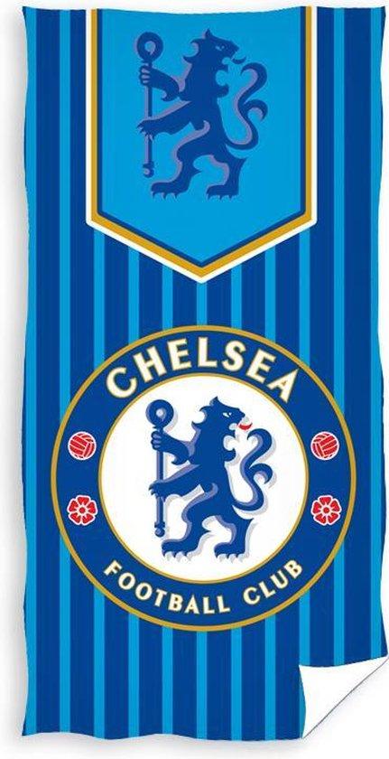 Chelsea - Strandlaken - Handdoek - 70x140cm - Stripes logo
