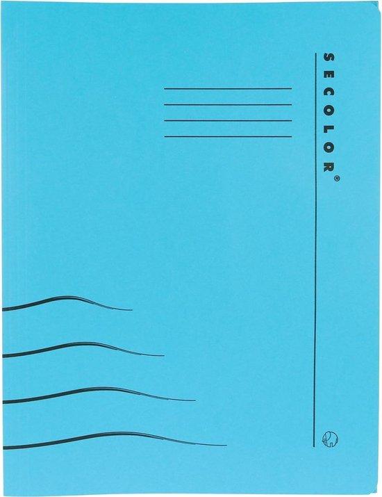50x Jalema hechtmap Secolor Clipex blauw