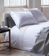 Hotel Suite Monaco - Dekbedovertrek - Eenpersoons - 140x200/220 cm - White