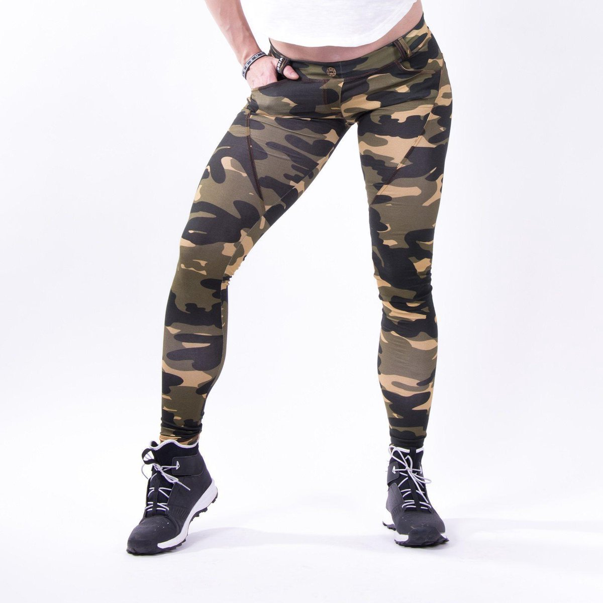 Push up broek Camo Nebbia 252 Bubble Butt Pants Camo