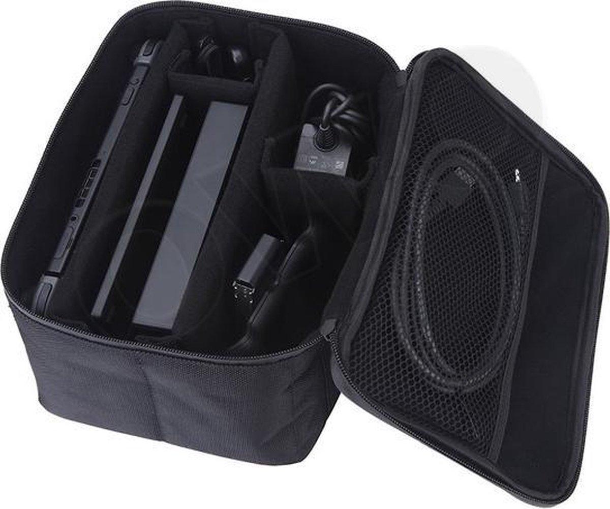 Luxe reistas case cover   reiskoffer   opbergtas   hoes   tasje   voor de Nintendo Switch console