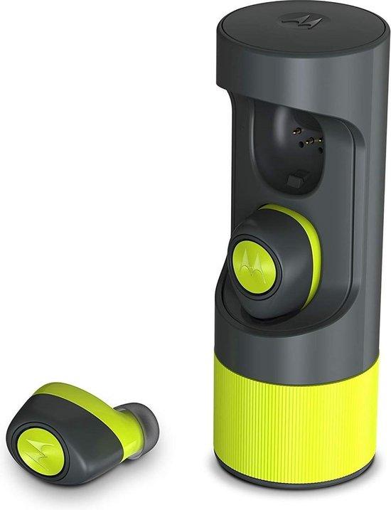 Motorola Draadloze Oordopjes Verveones + Lime