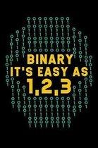 Binary It's Easy As 1,2,3