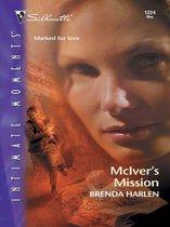 Boek cover McIvers Mission van Brenda Harlen
