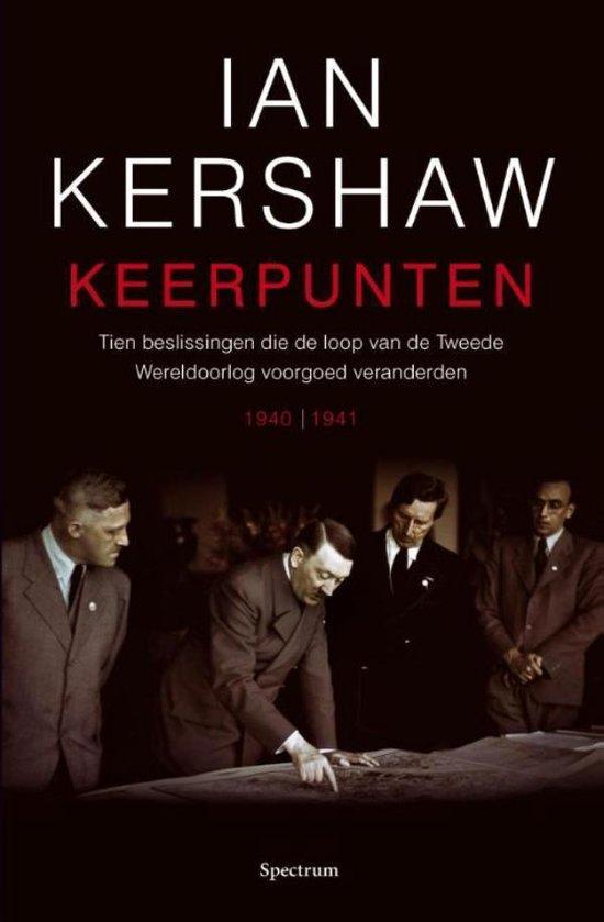 Boek cover Keerpunten van Ian Kershaw