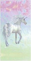 Good Morning Unicorn - Strandlaken - 75x150 cm - Multi kleur