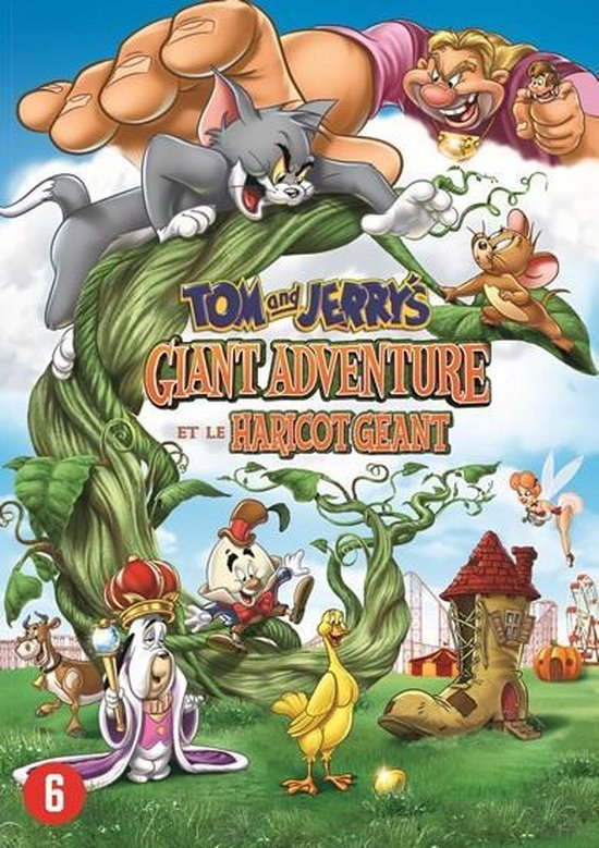 Cover van de film 'Tom & Jerry - A Giant Adventure'
