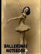 Ballerinas Notebook