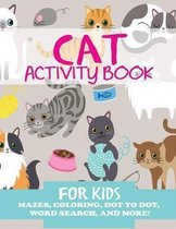 Cat Activity Book for Kids