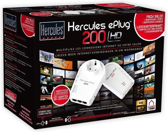 Hercules ePlug 200 HD DUO Ethernet 200 Mbit/s