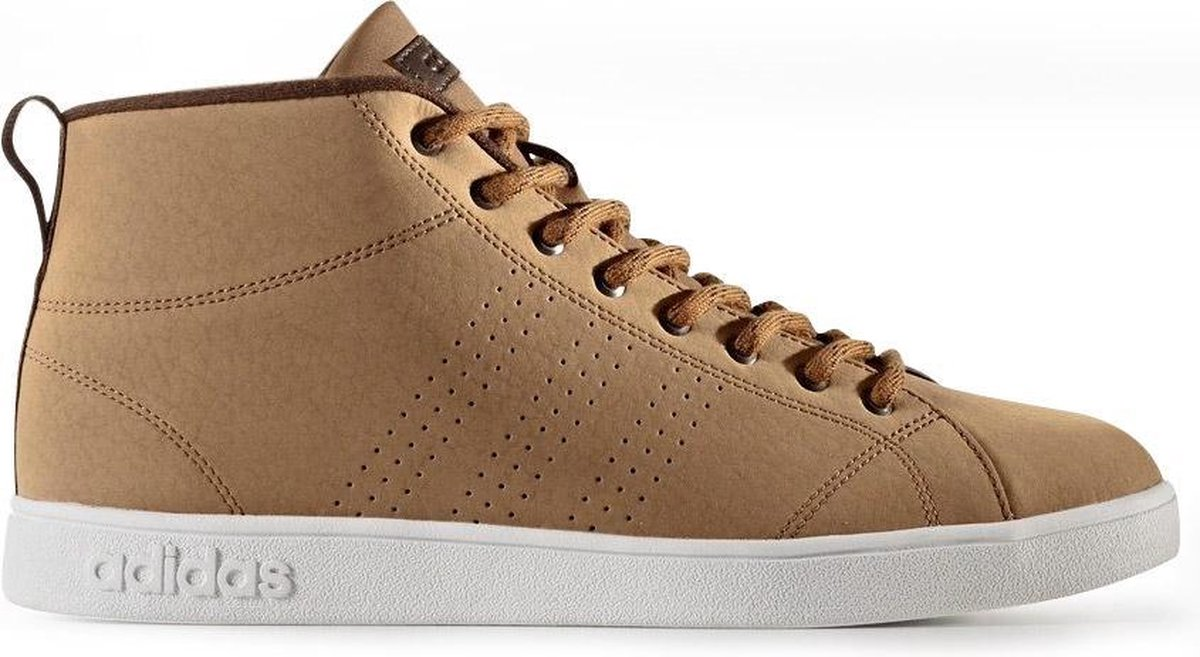 Heren Adidas advantage clean winter mid sneakers bruin
