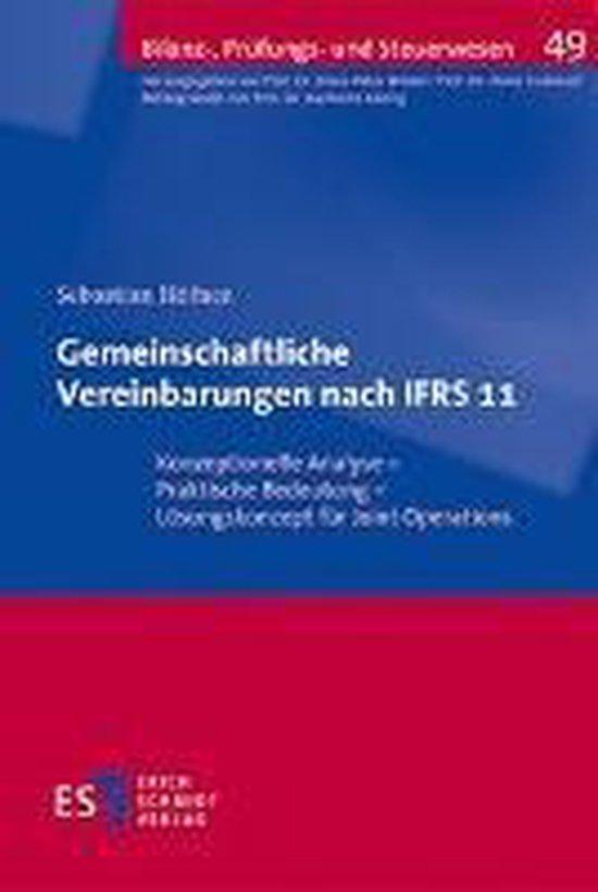 Gemeinschaftliche Vereinbarungen nach IFRS 11