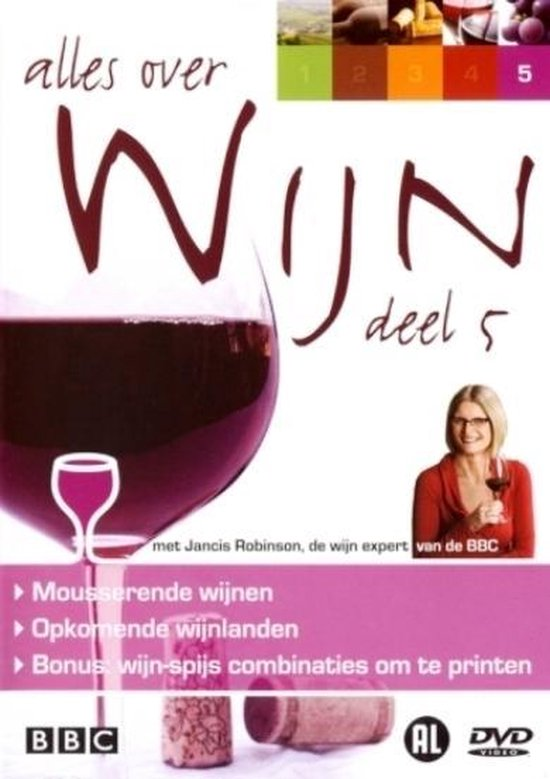 Cover van de film 'Alles Over Wijn Deel 5'