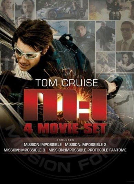 Cover van de film 'Mission: Impossible 1 t/m 4'