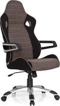 hjh office Racer Pro IV - Bureaustoel - Zwart/ beige / grijs