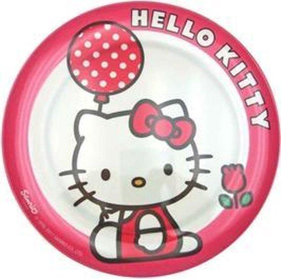 Hello Kitty bord - melamine - 20cm