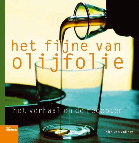 Het fijne van olijfolie - E. Van Zalinge pdf epub