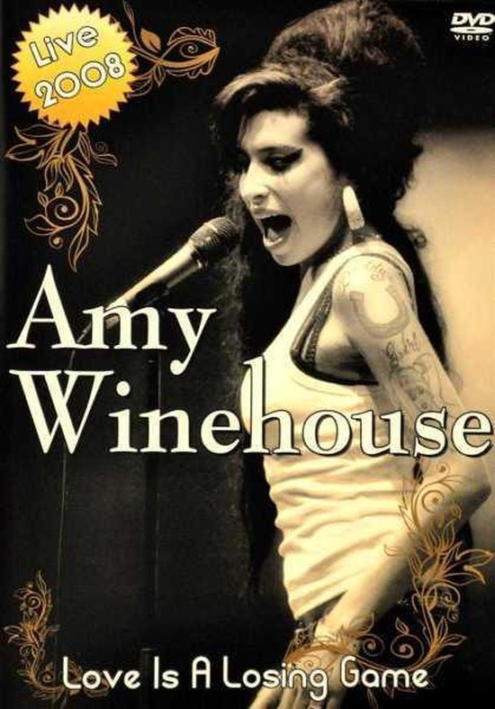 Cover van de film 'Amy Winehouse - Love Is A Losing Game'