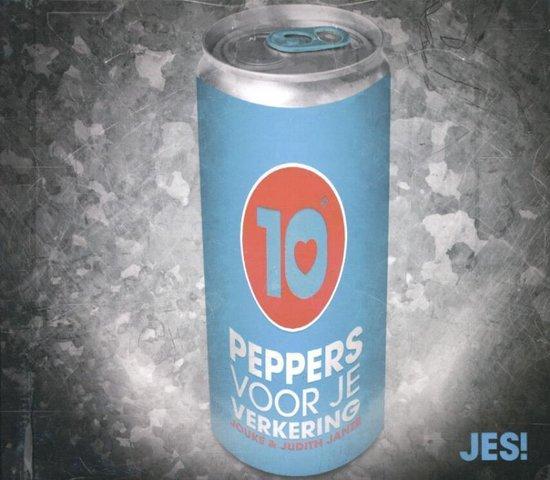 Cover van het boek '10 peppers voor je verkering' van Jouke Janze