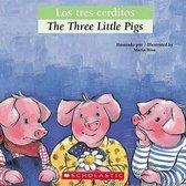 Omslag Los Tres Cerditos / The Three Little Pigs
