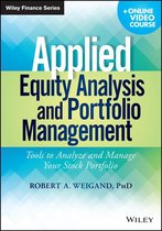Boek cover Applied Equity Analysis and Portfolio Management van Robert A. Weigand