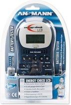 Ansmann - Energy Check LCD - battery-Testgerät