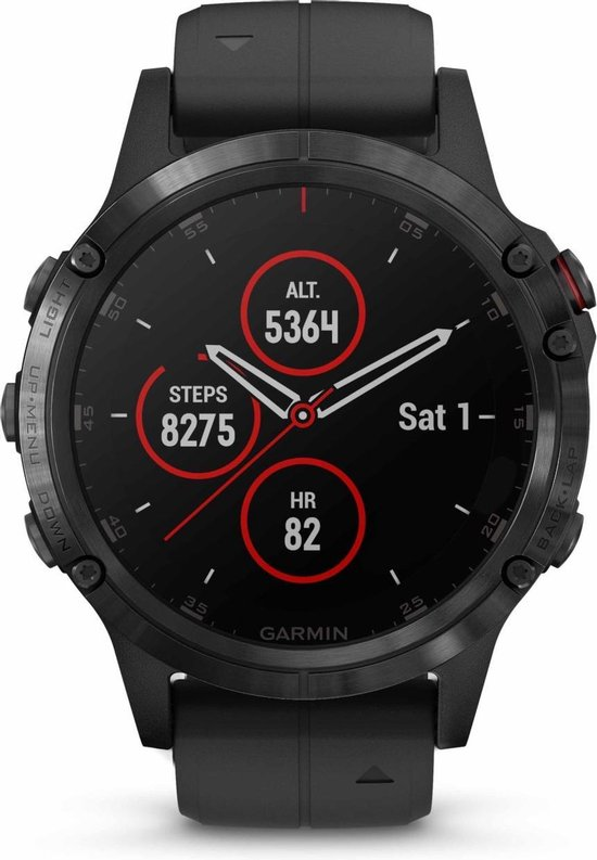Garmin fēnix 5 Plus - Smartwatch - 47 mm - Sapphire