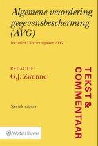 Tekst & Commentaar - Tekst & Commentaar Algemene verordening gegevensbescherming (AVG)