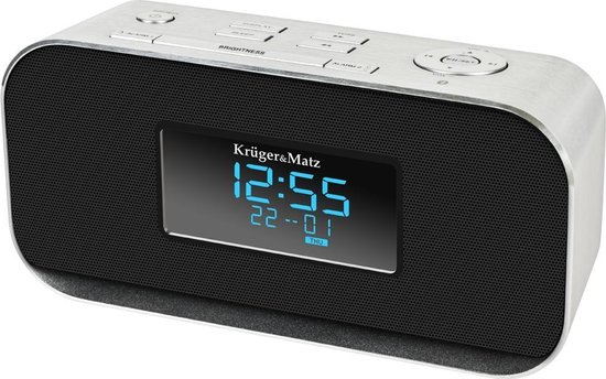 Krüger & Matz KM1150 - Wekkerradio met Bluetooth - zwart