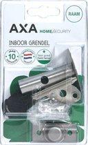 AXA insteekgrendel, staal, F1 - zilver, doornmaat 25mm