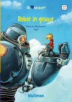 Boek cover Robot in gevaar van Zapf (Hardcover)