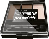 Maybelline Masterbrow Pro Palette - Deep Brown