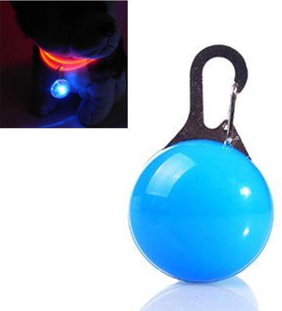 Cadellight Veiligheidslampje Voor Halsband - Dierenlampje - Blauw