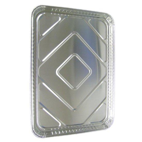 VOORDEELPAK: 5 Pakjes van Aluminium rechthoekige voedsel containers, 440 x 330 mm