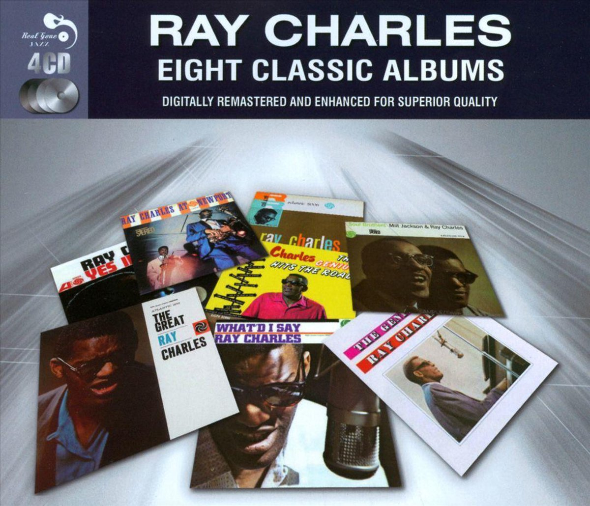 8 Classic Albums - Ray Charles