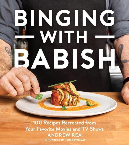 Boek cover Binging with Babish van Andrew Rea (Onbekend)