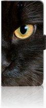 Huawei Mate 20 Lite Bookcase Hoesje Zwarte Kat