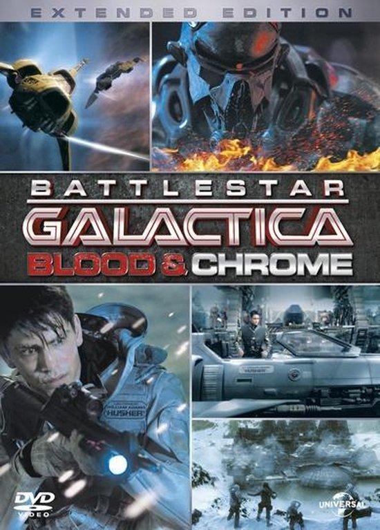 Cover van de film 'Battlestar Galactica - Blood & Chrome'