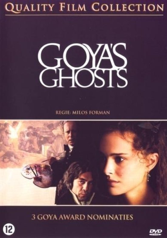 Cover van de film 'Goya's Ghosts'