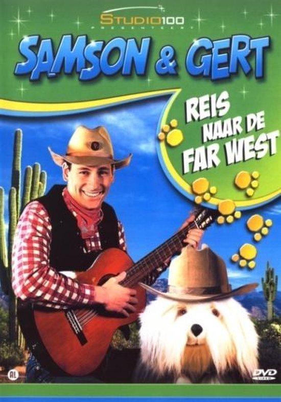 Cover van de film 'Samson & Gert - Reis Naar De Far West'