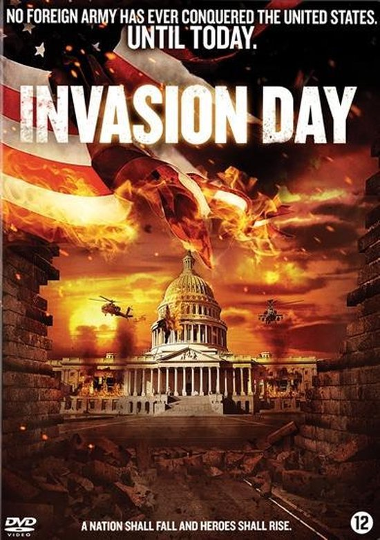 Cover van de film 'Invasion Day'