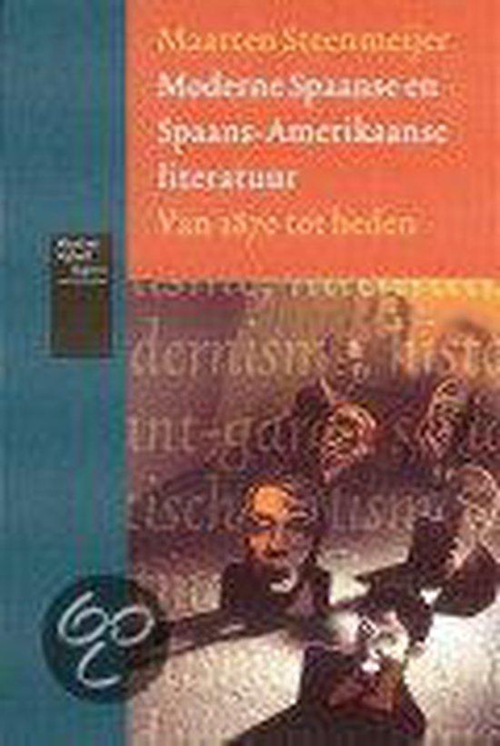 Moderne Spaanse en Spaans-Amerikaanse literatuur - Maarten Steenmeijer |