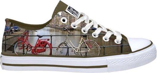 Hollandse Sneakers met fietsdesign maat 38