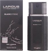 Ted Lapidus Pour Homme Black Extreme - 100 ml - Eau de toilette