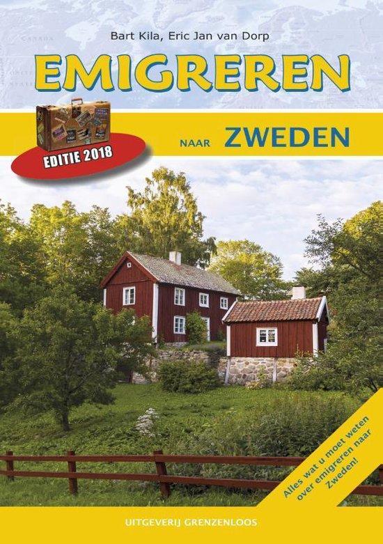 Boek cover Emigreren naar Zweden 2016 van Eric Jan van Dorp (Paperback)