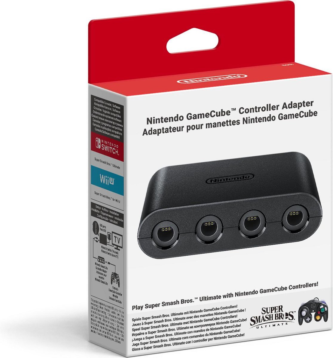 Nintendo Switch GameCube Controller Adapter Nintendo Switch - Nintendo