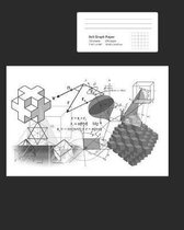 Graph Composition Notebook - Quad Ruled 5 Squares Per Inch