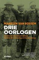 Boek cover Drie oorlogen van Maarten van Rossem (Paperback)