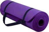 Sportbay - Fitnessmat - 180 cm x 60 cm x 1.6 cm - Paars